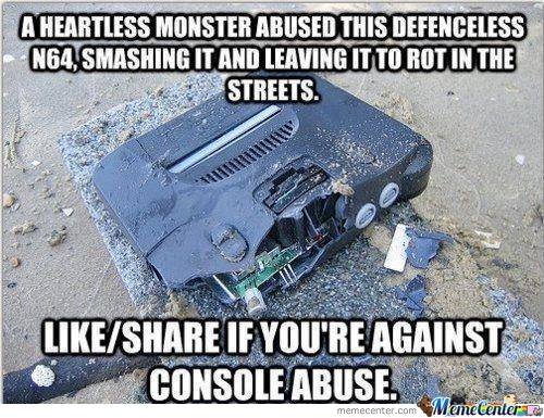 Console Abuse