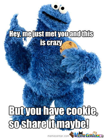 cookie monster_o_515858 cookie monster by henk meme center
