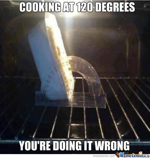 Cooking At 120 Degrees!