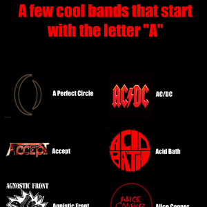 cool bands that start with the letter a by thatmusicguy meme center