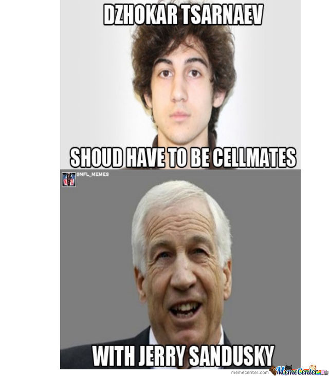 Cool Fact~I Live At Penn State Where The Sandusky Thing Went Don