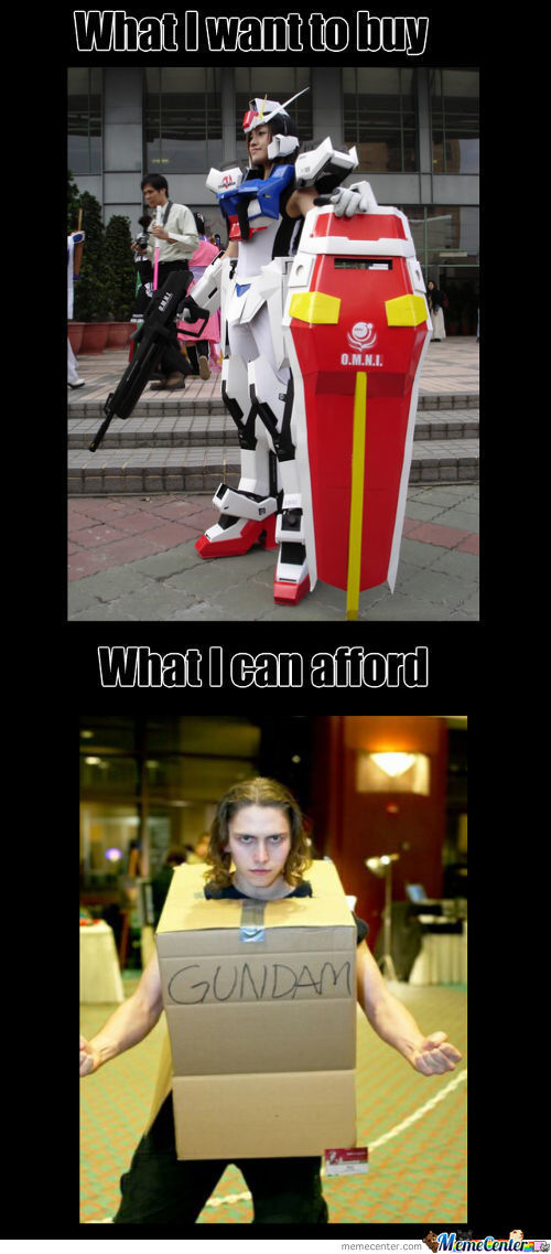 Cosplay Expectations