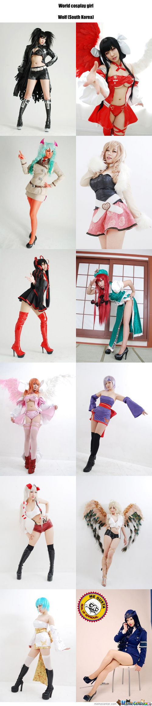 Cosplay Girl 10 : Wolf (South Korea)