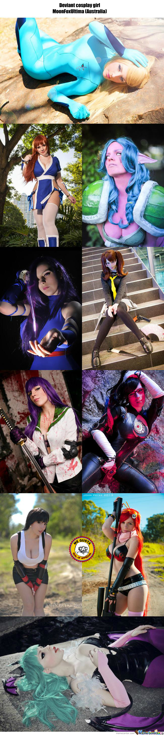Cosplay Girl 103 : Moonfoxultima (Australia)