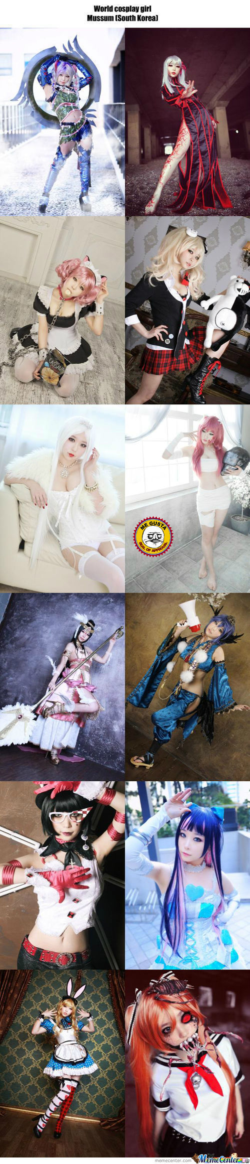 Cosplay Girl 28 : Mussum (South Korea)