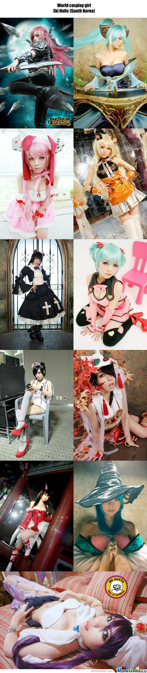 Cosplay Girl 32 : Eki Holic (South Korea)