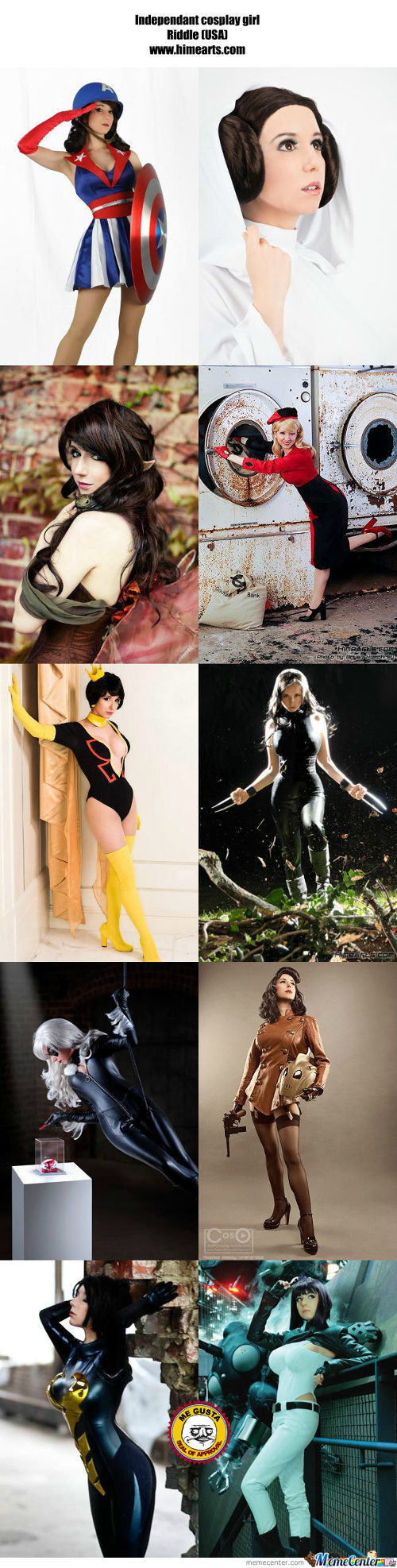 Cosplay Girl 92 : Riddle (Usa)