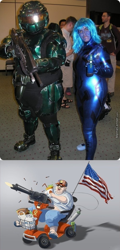 Cosplay, You're Doing It Wrong