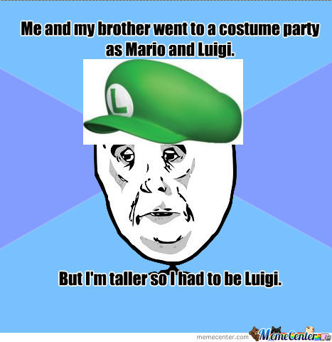Costume Parties.(Not A True Story, Just Thought Of It.)