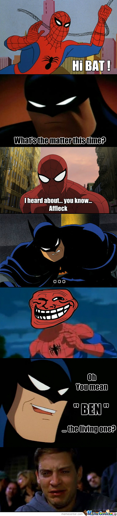 Counter-Troll : Level Batman
