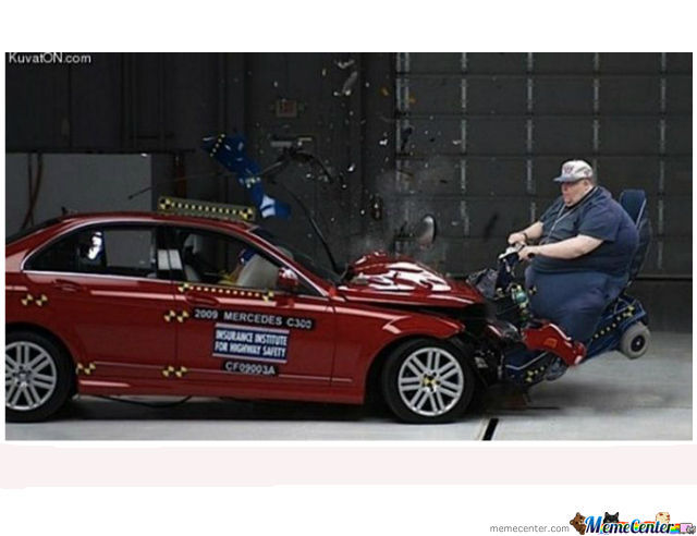 Crash Test Safe. Murica!