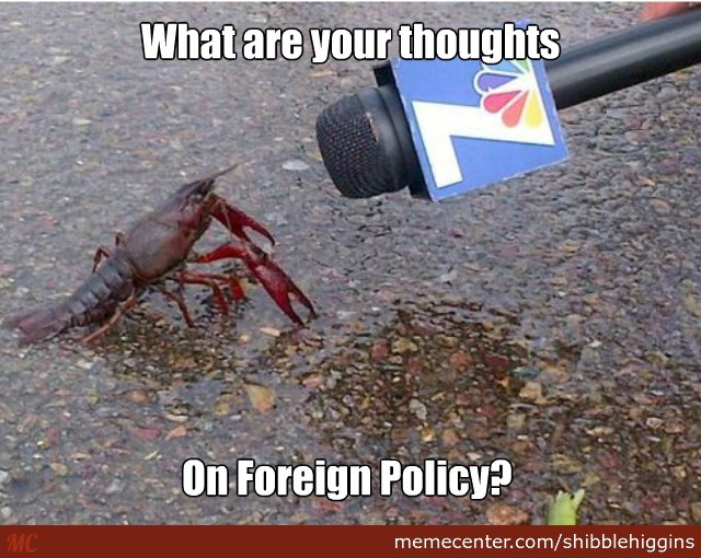 Crawfish Are Very Dedicated Speakers When It Comes To Politics