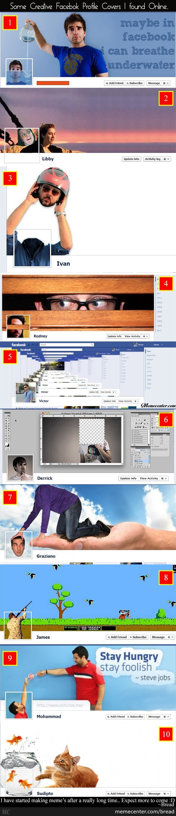 Creative Facebook Profiles