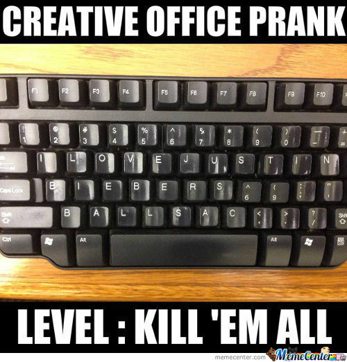 Creative Office Prank