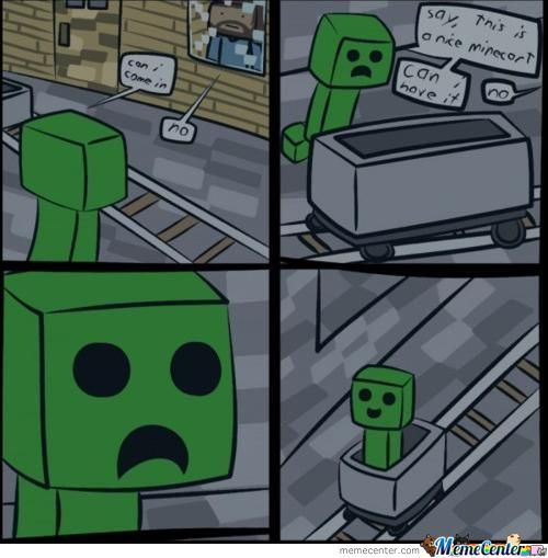 Creeper In Minecraft