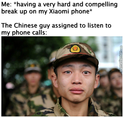 *Cries In Chinese*