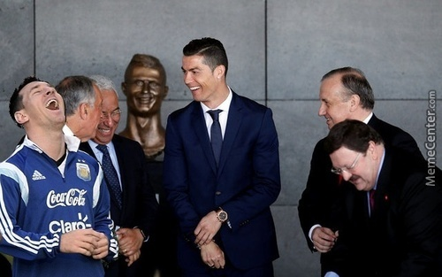 Cristiano Ronaldo Statue The Best Memes & Reactions.