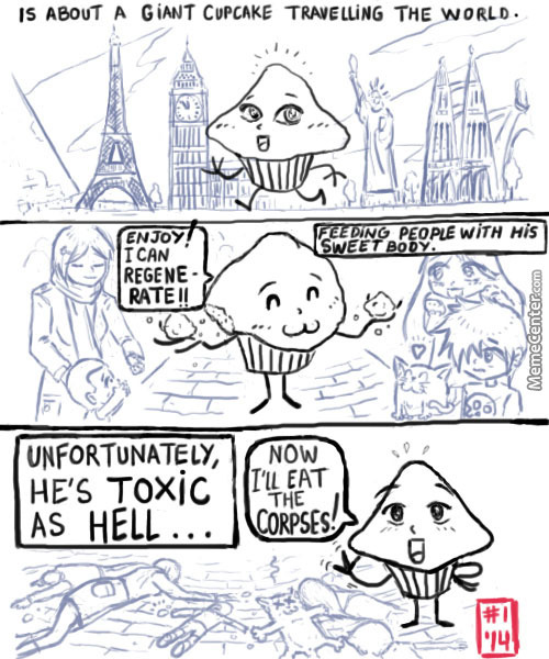 Cupcake From Hell