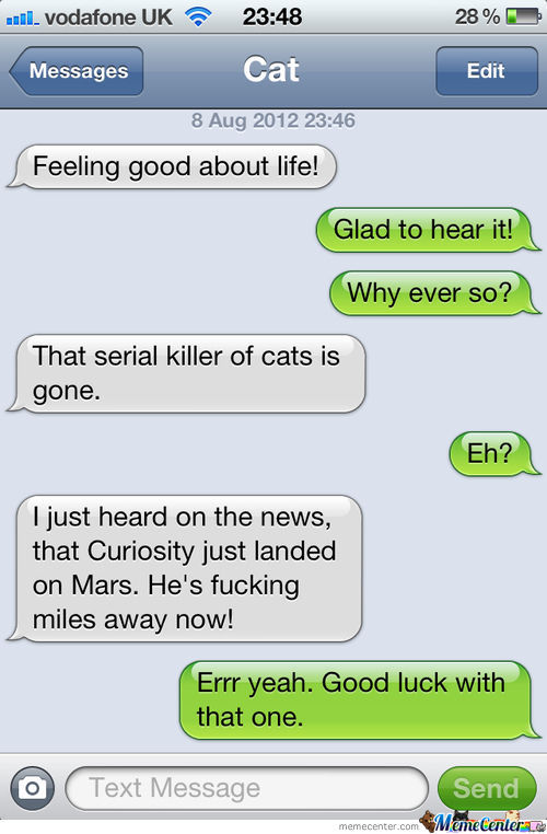 Curiosity: Killer Of Cats