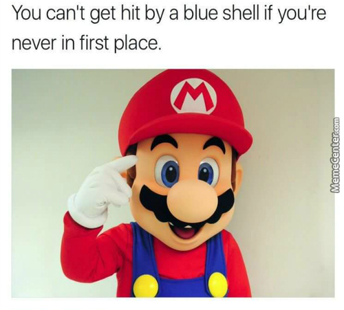 Curse That Motherf***er Who Threw The Blue Shell!