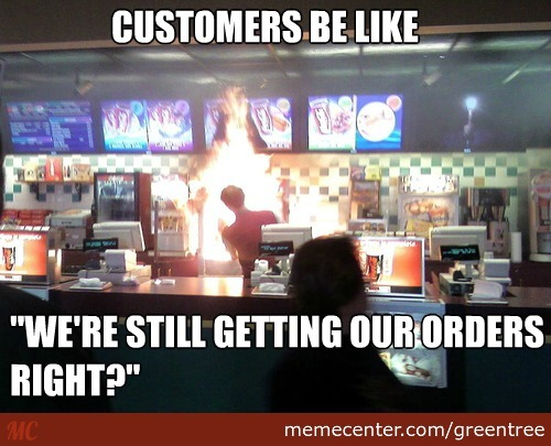 Customers!
