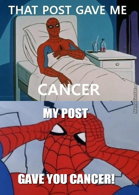 D: How Will Spiderman Live With The Guilt?!