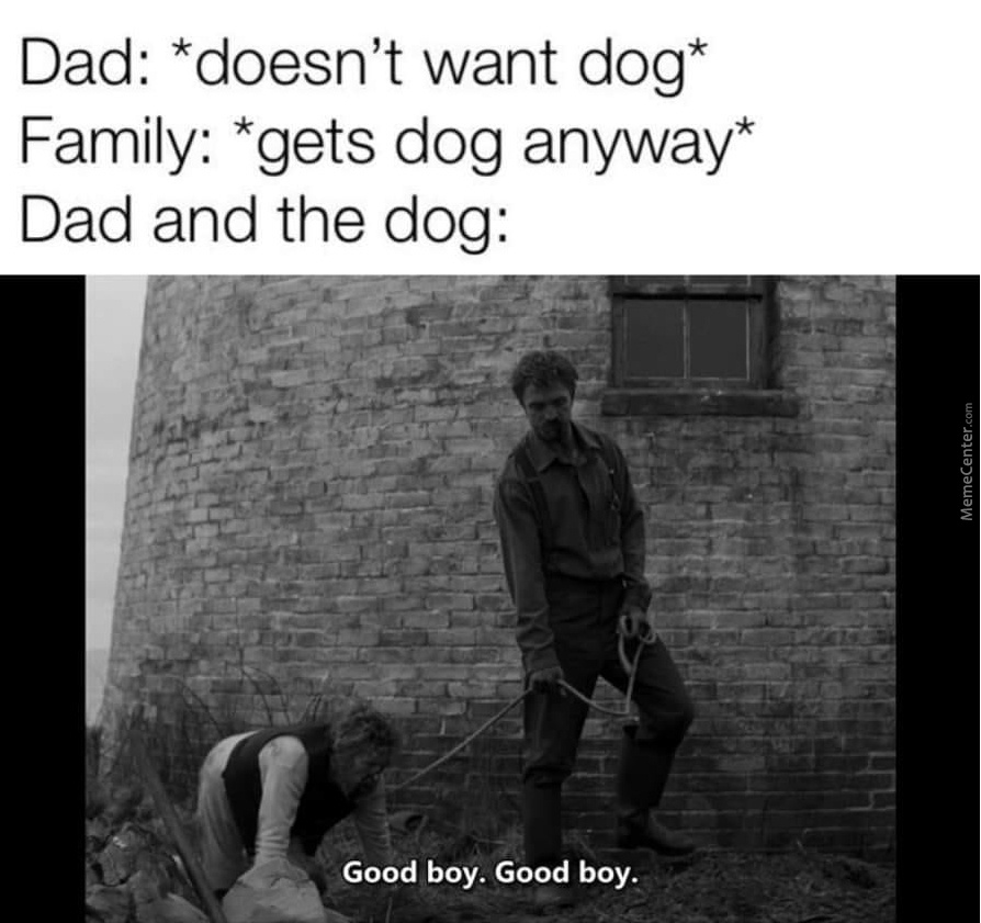 Dad And The Dog