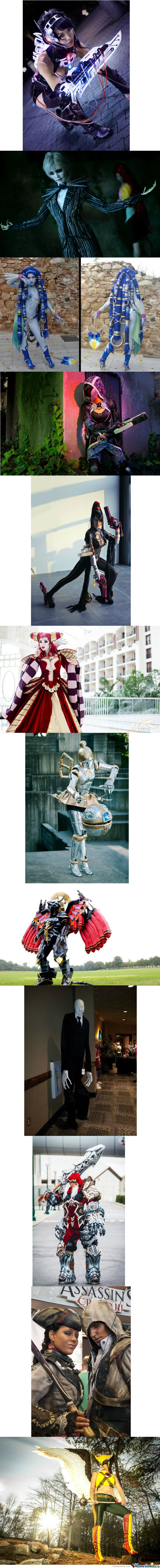 Daily Cosplay Compilation No: 4