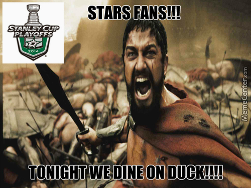 Dallas Stars Playoffs 2014