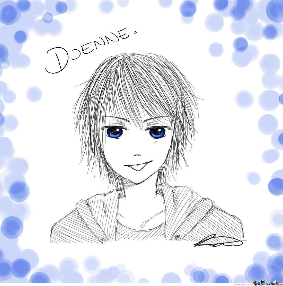 Dammit Djenne, What's Your Eye Color..?!
