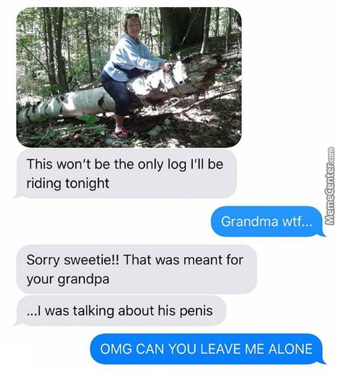Damn Grandma Is Thicc