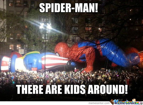 Damn It Spider-Man!