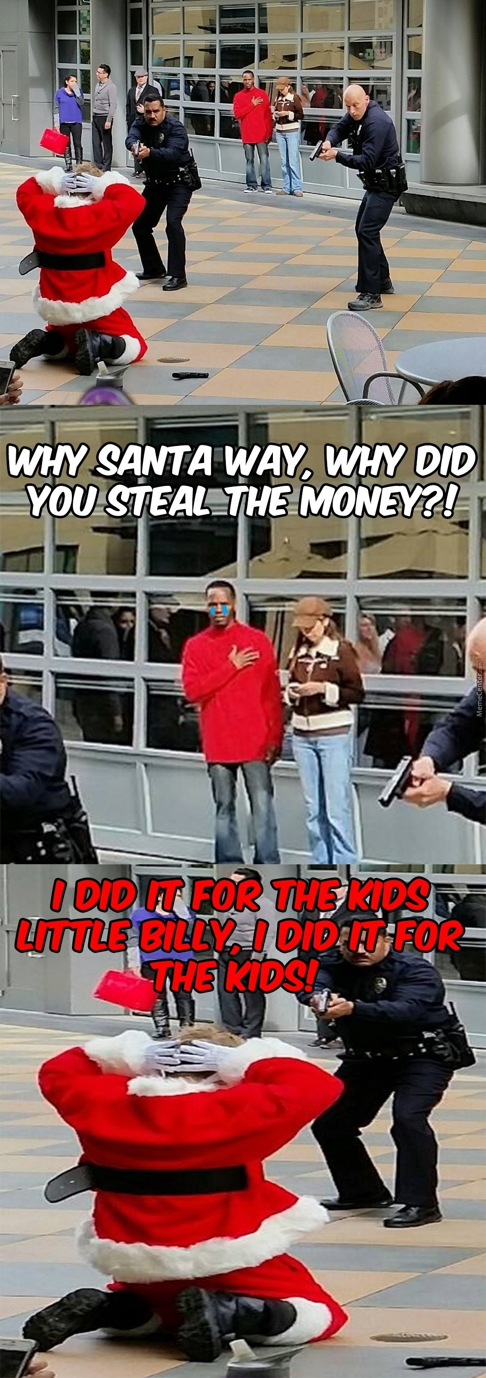 Damn Kids And Their Iphones Xboxs Ps4S Look What You Did To Santa