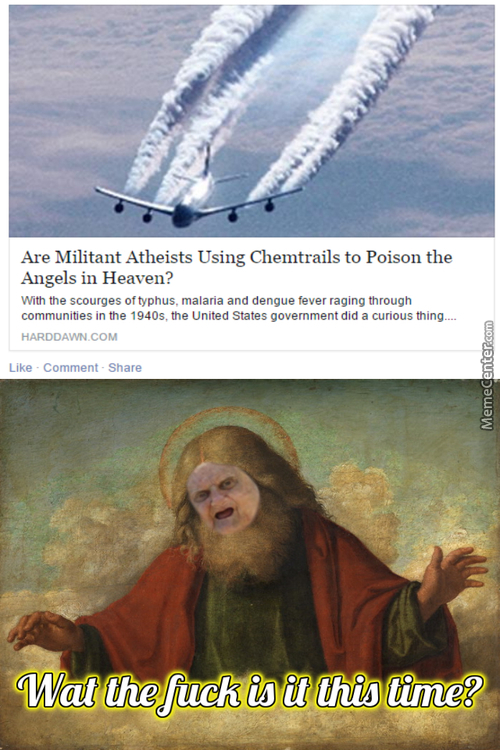 Damn Militant Atheists Hurting Our Angels!