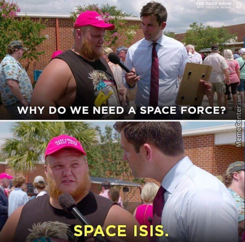 Damn Space Arabs