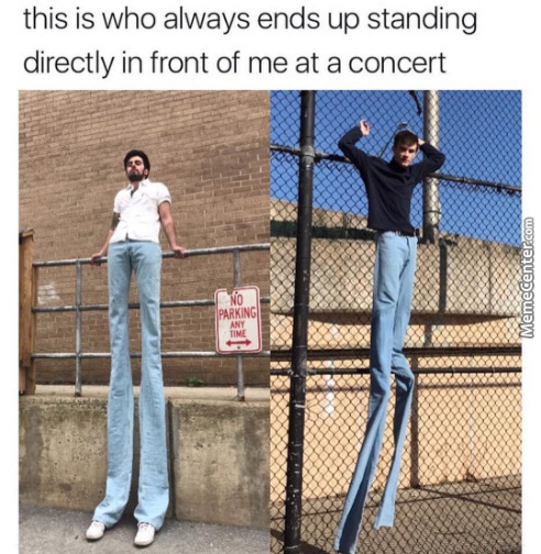 Damn Tall People
