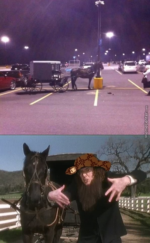 Damn You, Amish People >:v