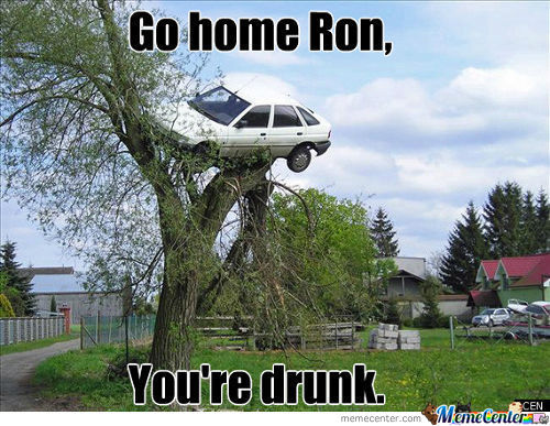 Damnit Ron! Not Again!
