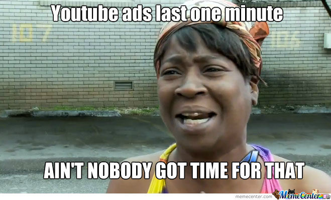 Dang Youtube Ads