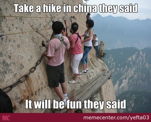 Funny Hiking Meme : Hike memes. best collection of funny hike pictures