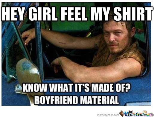 Daryl From The Walking Dead By Dasarcasticzomb Meme Center