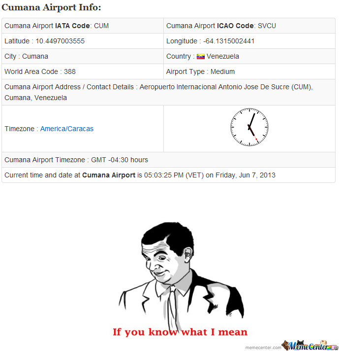 Dat Airport Code by ThomasL - Meme Center