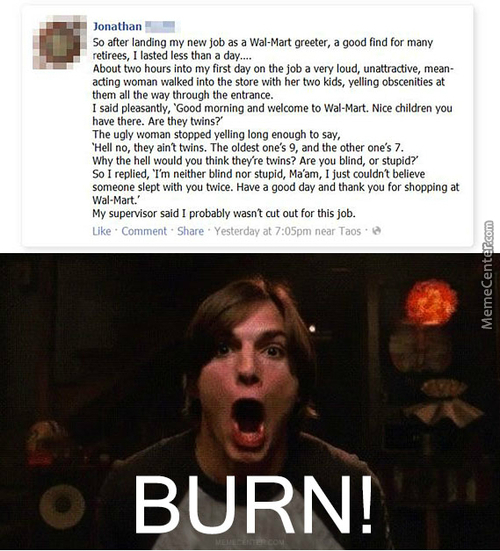 Dat Burn Though