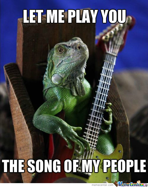 Dat Reptilian Song