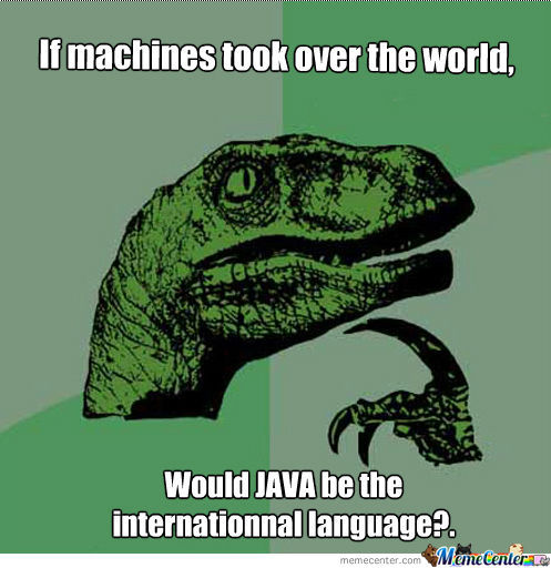 If machines took over the world