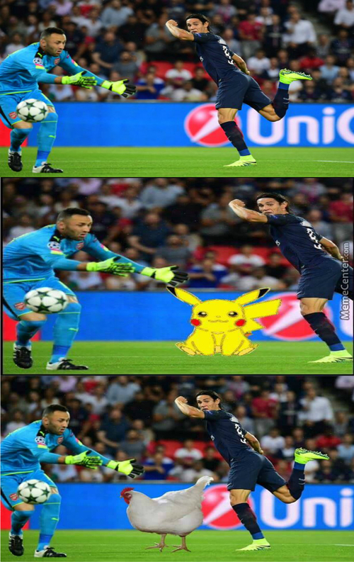 David Ospina Trying To Catch