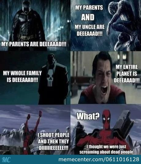 Dead Pool You Cant Just Do That.