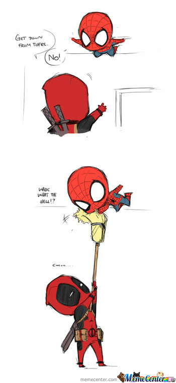 Deadpool & Spidey