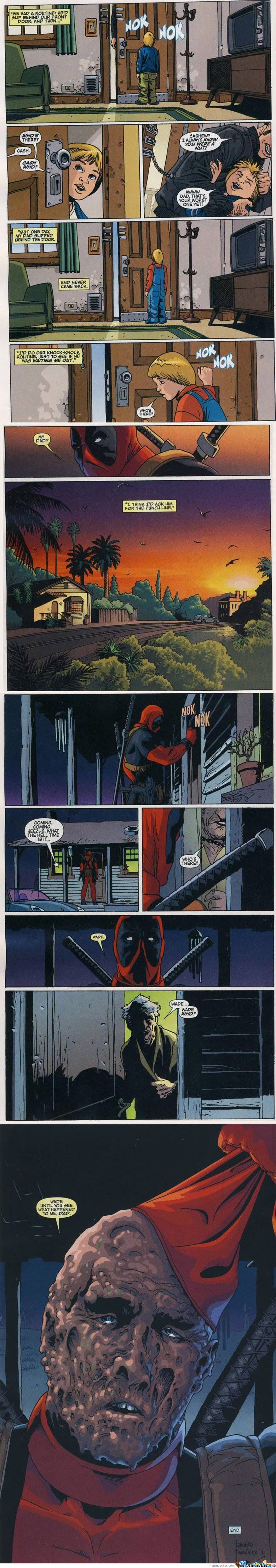 Deadpool And His Dad
