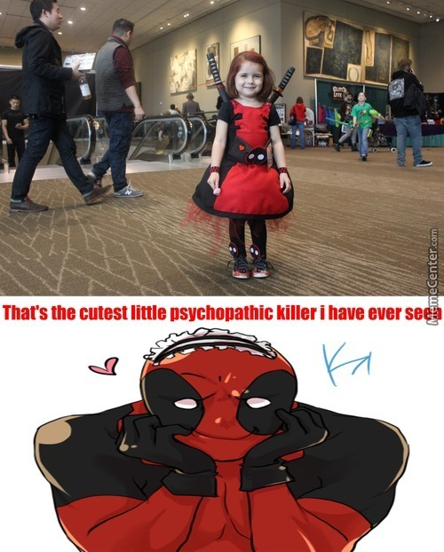 Deadpool Approve This ''awww''
